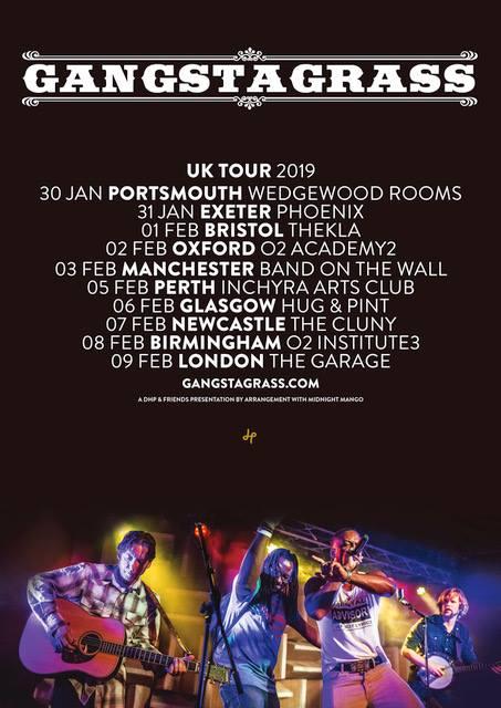 Gangstagrass UK 2019 Tour