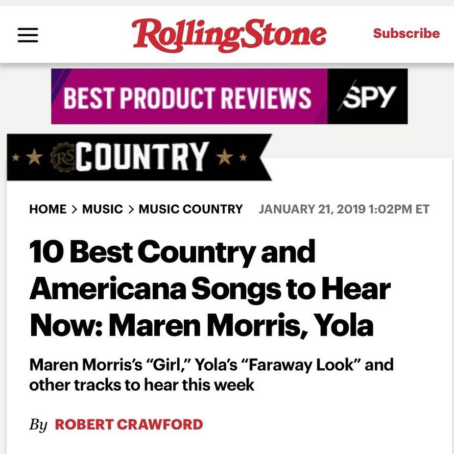 """ROLLING STONE REVIEWS """"KEEP TALKING (LIVE)"""" IN THE """"10"""